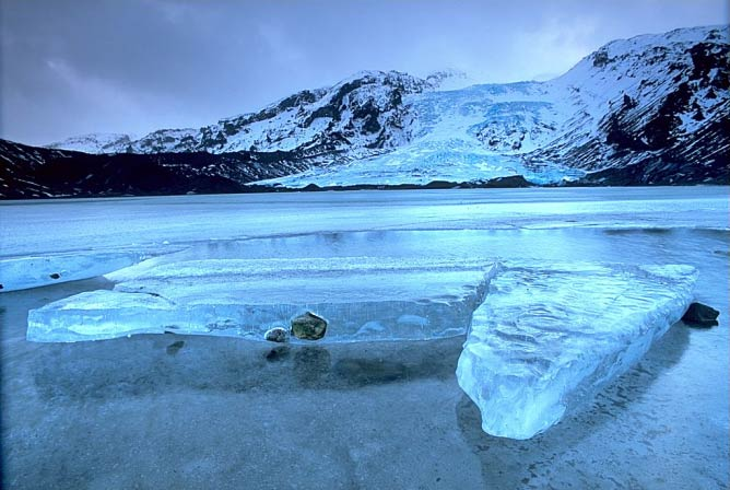 Eyjafjallajökull glacier, Iceland