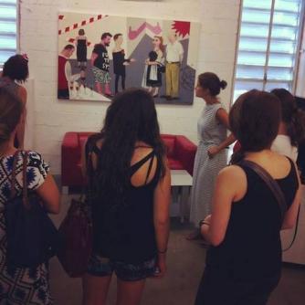 Private Art Tour with Sarah Peguine. Courtesy of Sarah Peguine.