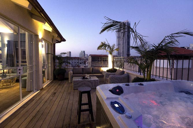The Boutique Rooftop Suite