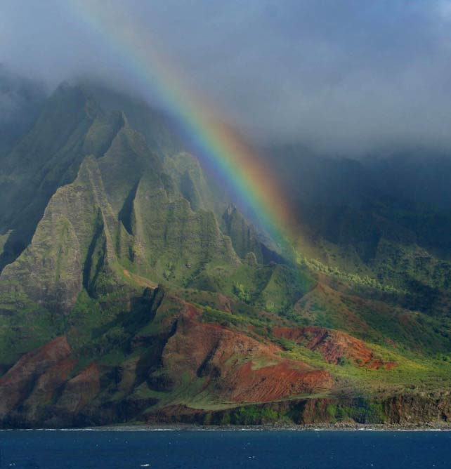 Rainbow, the Big island of Hawaiʻi