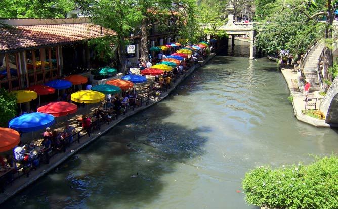 Casa Rio restaurant, San Antonio Riverwalk, Texas