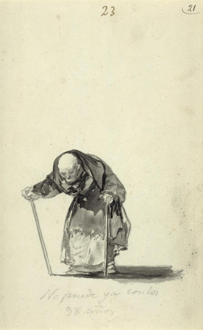 Francisco Goya, Just Can't Go On At the Age of 98