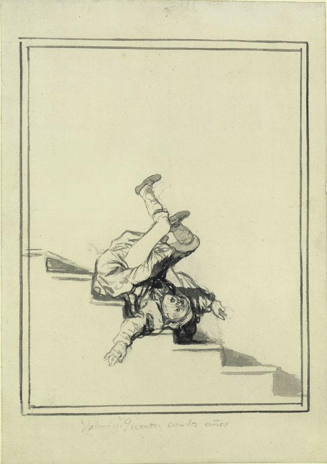 Francisco Goya, Showing off- Remember your age © The Courtauld Gallery