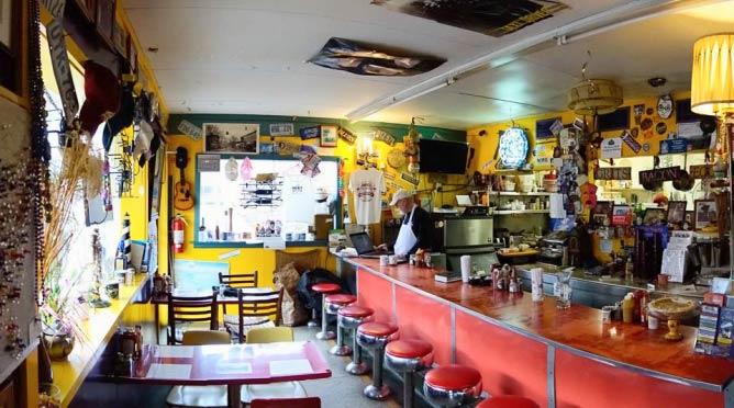 Rick's White Light Diner Interior | Courtesy of Rick's White Light Diner
