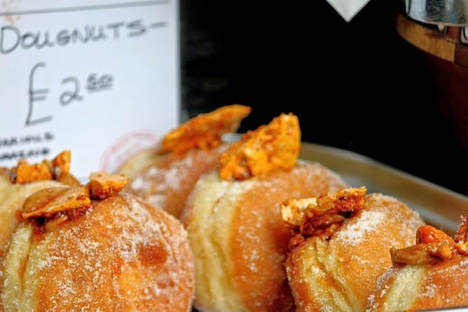 Doughnuts at Borough Market | © Annmaree Bancroft