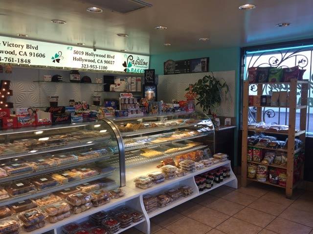 Interior of Papillon Bakery