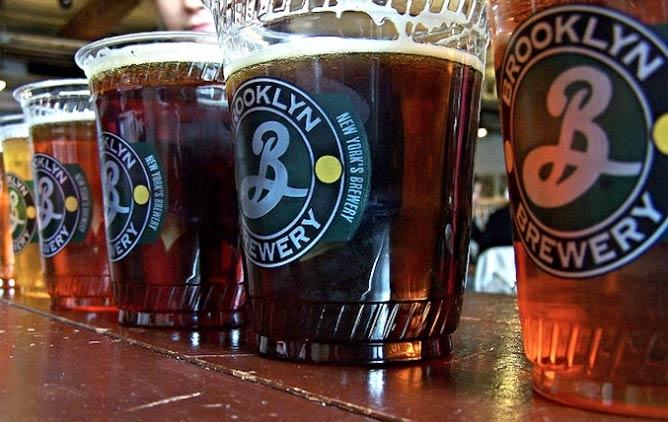 Beers of the Brooklyn Brewery | © Jeff Egnaczyk