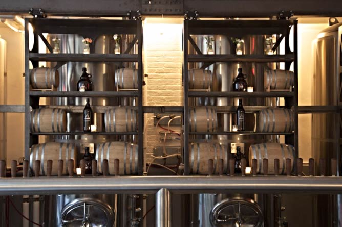 Threes Barrels | © Image Courtesy of Threes Brewery and Pamela Masters photography