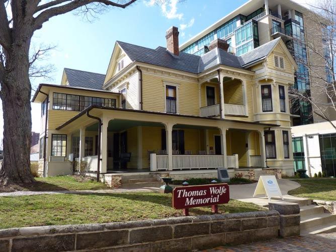 The Thomas Wolfe Memorial House | © Abe Ezekowitz/WikimediaCommons