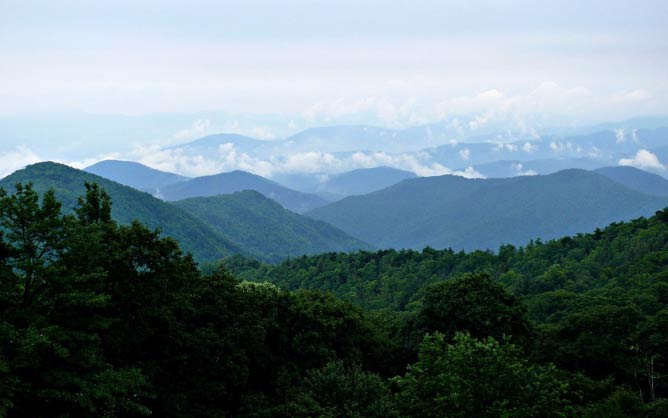 Blue Ridge Mountains | © Ken Thomas/WikimediaCommons