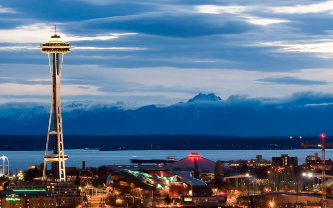 Downtown Seattle | © Jeffery Hayes/WikimediaCommons