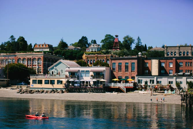 Port Townsend's waterfront | © Ashley Courter/Courtesy of City of Port Townsend