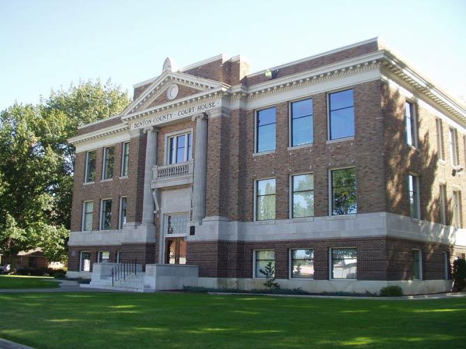 Benton County courthouse in Prosser | © Jonesey/WikiCommons