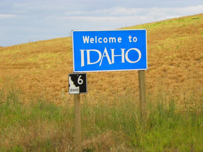 Welcome to Idaho © J. Stephen Conn/Flickr