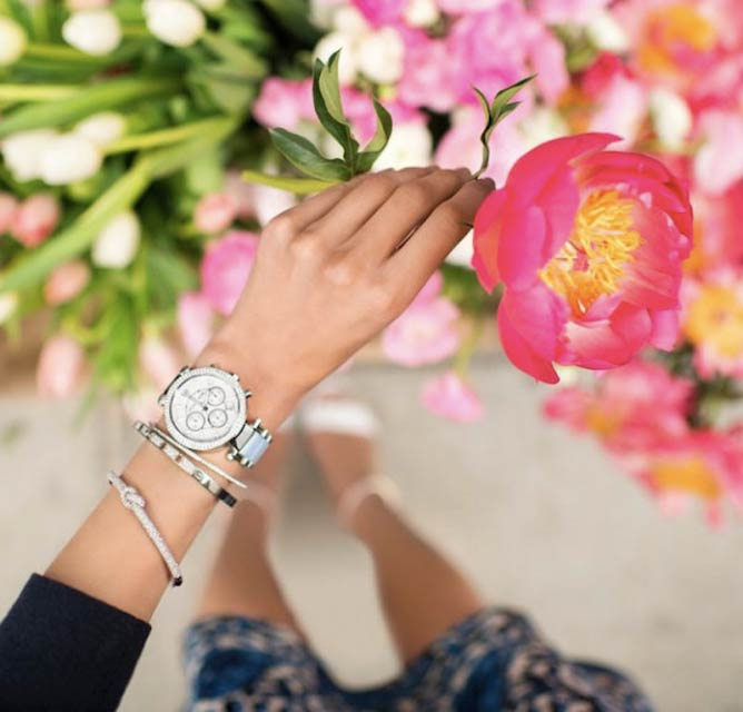 Michael Kors' new Girl's Guide to Watches series on Destination Kors. © Courtesy of Michael Kors