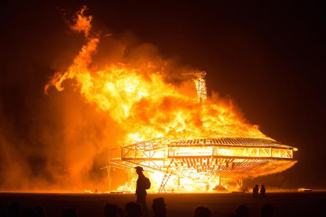 Burning Man | © Ray Terrill/Flickr