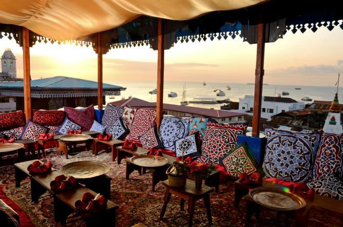 Teahouse Restaurant © Andrew Morgan. Courtesy of Emerson on Hurumzi.