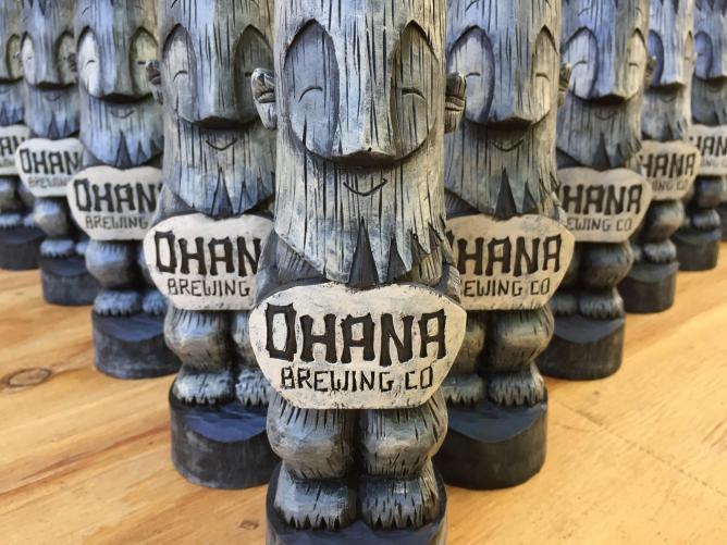 Courtesy of Ohana Brewing Company.