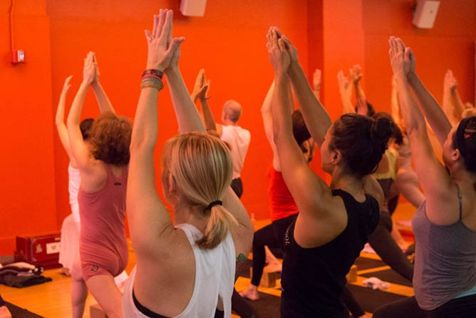 Jivamukti | Image Courtesy of Jivamukti Yoga School NYC