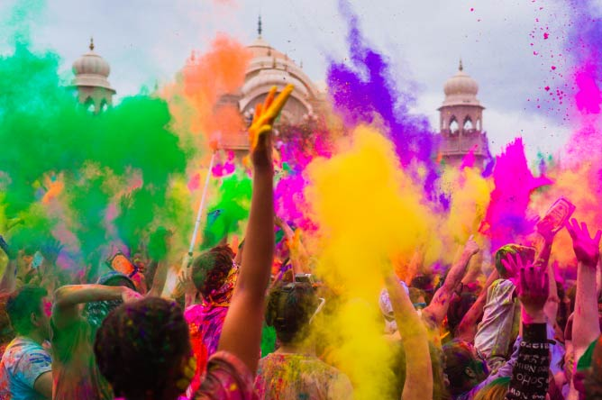 Holi Festival of Colors 2013. © StevenGerner/Flickr