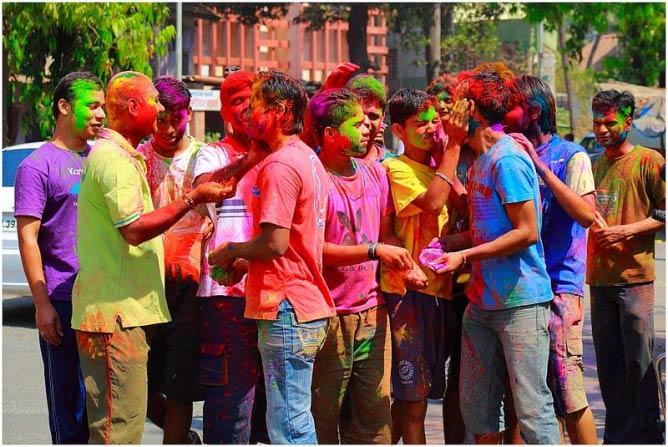 Holi Celebration 2013. © RamnathBhat/WikiComms