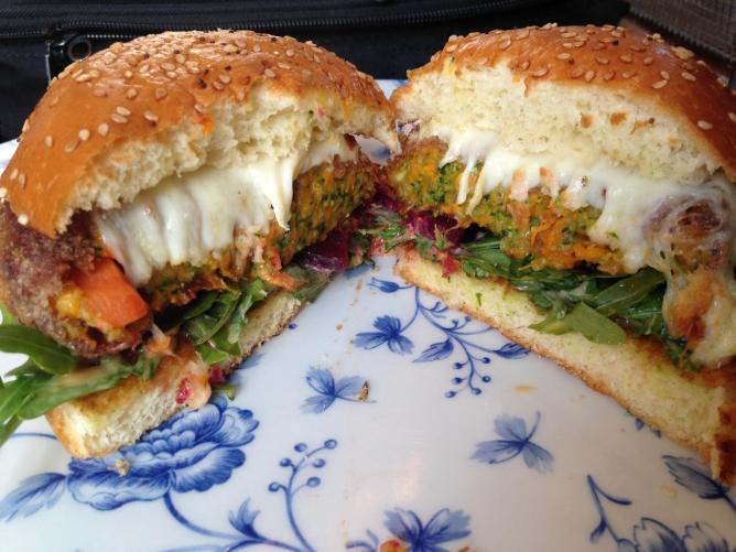 Veggie Burger from Burger Craft