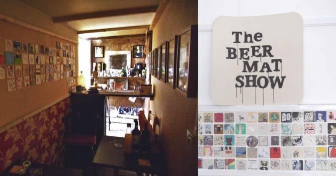 The Prince Albert and the beermats | © Bob Milner