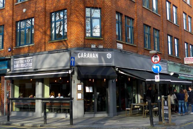 caravan restaurant @ exmouth market