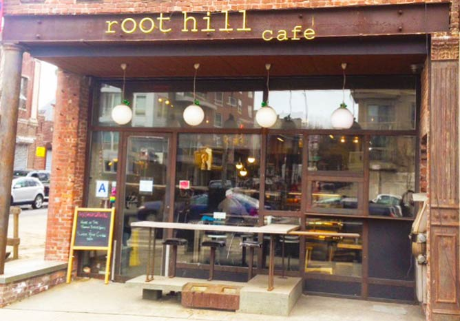 Image Courtesy of Root Hill Café