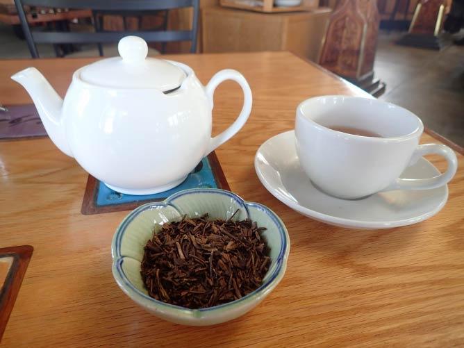 Organic Houjicha Green Tea   Lauren Ferrier