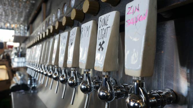 The Haul's beer lines | Courtesy The Haul