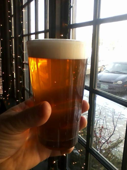 The Bobcat Café & Brewery's Prayer Rock Extra Pale Ale | Courtesy of The Bobcat Café & Brewery