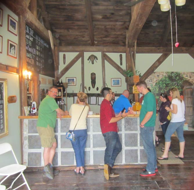 Tasting room at Foley Brothers Brewing | Courtesy of Foley Brothers Brewing