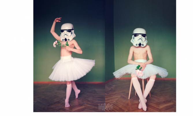 Aren't You A Little Too Short Stormtrooper? © Uldus Bakhtiozina