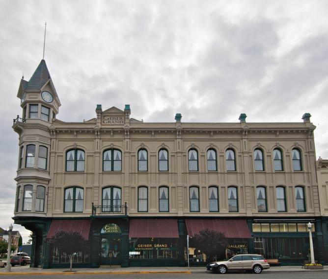Geiser Grand Hotel in Baker City | © A.Davey/Flickr