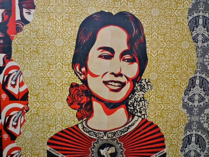 Obey, Amsterdam Centraal | © Oriol Pascual/FlickrCommons