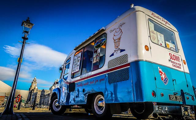 The Iconic Mister Softee Truck | © Kate Howley
