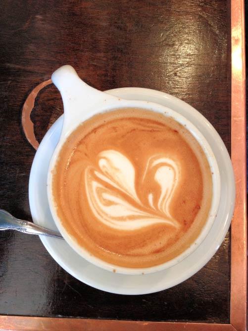 Birch Coffee's latte