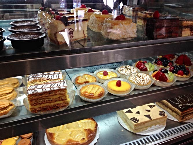 French pastries at La Toulousaine