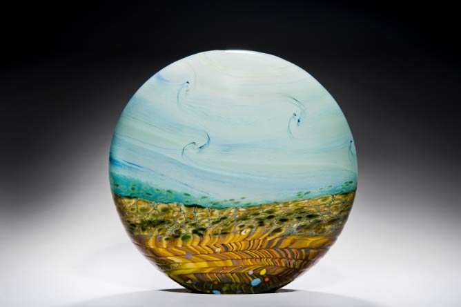 Peter Layton, Wheatfield, Extra Large Stoneform _ Courtesy Ester Segarra