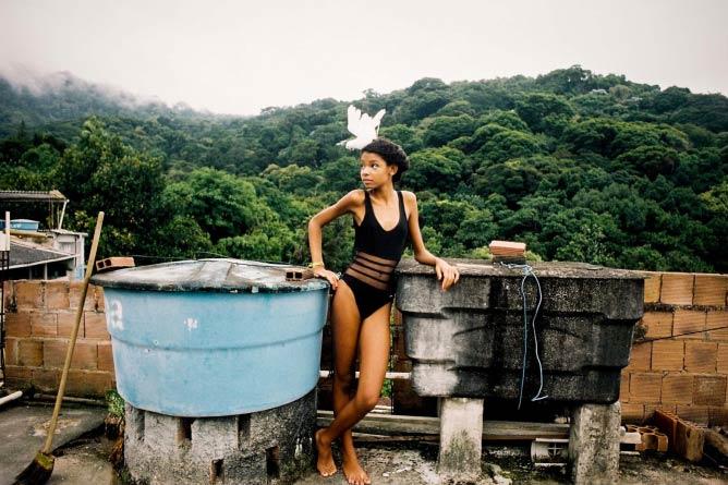 Le top model, Isabelly ,13 ans, favela de Rocinha