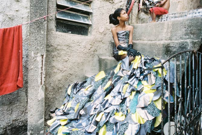 La Star Hollywoodienne, Milena 11 ans, favela de Rocinha