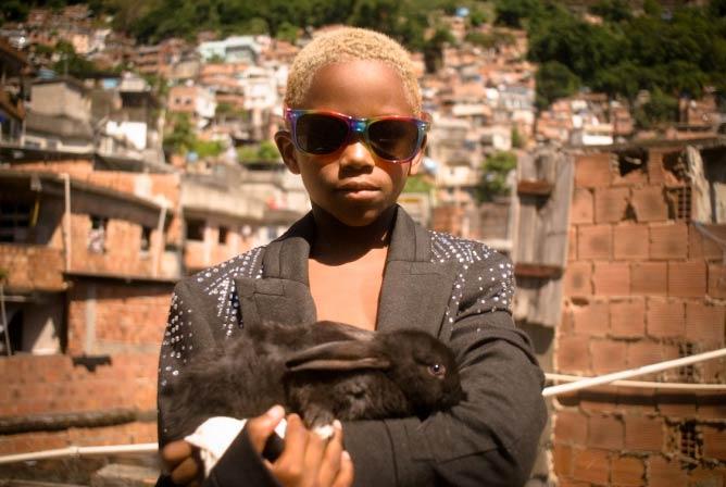 Le Magicien, Pedro henrique, 7 ans, Favela de Rocinha