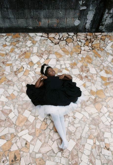 The prima ballerina, Estefany,9 years, Favela de Rocinha