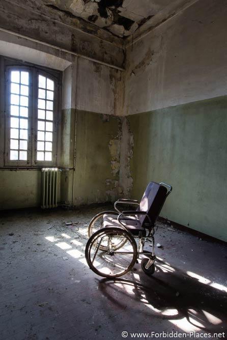 Inside a manicomio (Italian mental asylum) © Sylvain Margaine