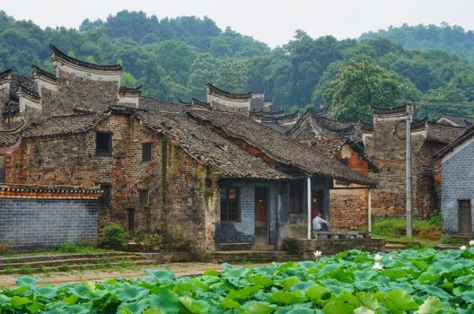 Eerie Landscapes Abandoned Villages In China