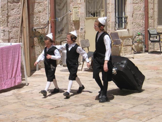 Meah Shearim Jerusalem