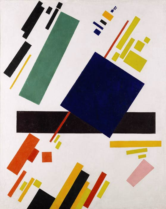 Kazimir Malevich, Suprematist Composition, 1916, private collection
