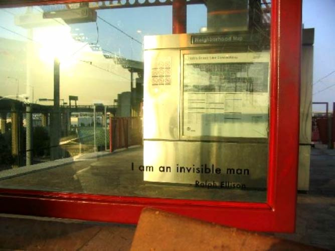 Ralph Ellison's Words at Aviation Station | C. Marie Cradle