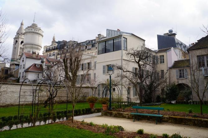 Exterior View of Valadon Studio, Museum of Montmartre © Stephanie Carwin